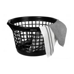 Wasmand zwart gerecycled materiaal